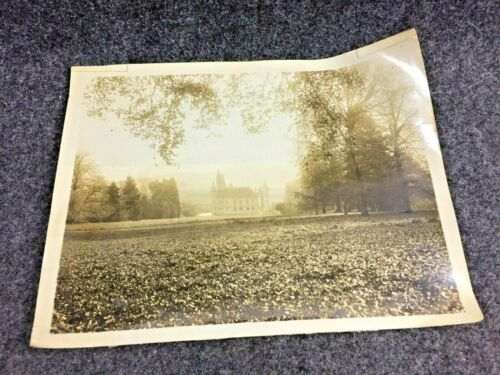 Original WW2 Photograph of the American Visitors Chateau in France