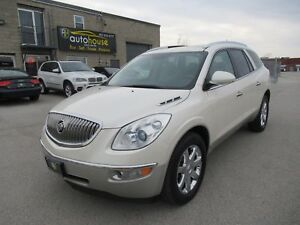 2010 Buick Enclave CXL LEATHER, SUNROOF, THIRD ROW, BACKUP CA...