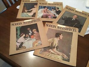 Modern masterpieces set of 24 volumes 1935/36 Dingley Village Kingston Area Preview