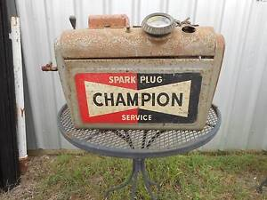 VINTAGE CHAMPION SPARK PLUG CLEANER GARAGE SERVICE STATION PETROL Peak Crossing Ipswich City Preview