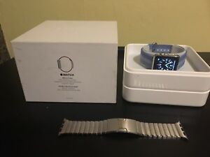 38mm Stainless Apple Watch series 1