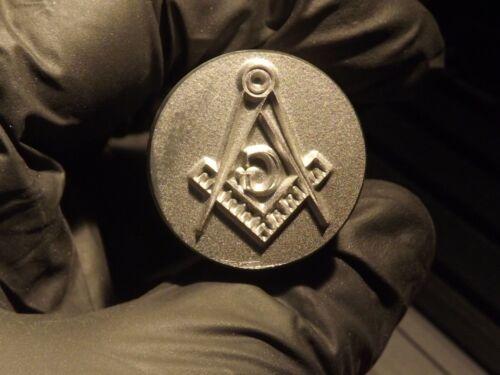 Masonic Penny Punch Steel Stamping Tool Freemason 16 X 20 mm