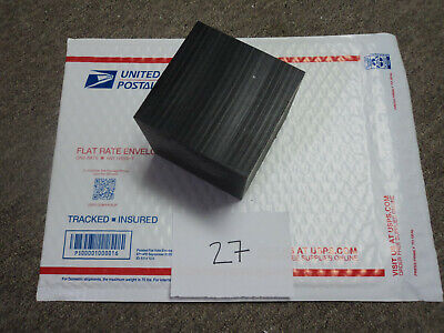 Black Delrin Acetal Sheet Block Cnc Mill 1 Piece 27