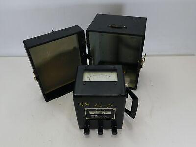 Jfc Electronics Mini-500 Analog Crank Type Insulation Tester Meg Ohm Meter