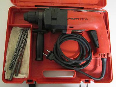 Hilti TE 10 Bohrmaschine im Koffer mit bohrer vom fachmann überholt