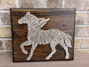 String Art - Rustic Horse London Ontario image 1