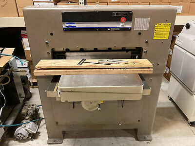 Challenge Paper Cutter Model 305 Three Phase Or Single Phase Electric