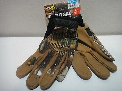 Mechanix Wear Realtree Xtra The Original Gloves Brown Camo Size Md
