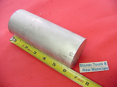 2-12 Aluminum Round Rod 6.25 Long 6061 T6 Solid 2.5 Diameter Lathe Bar Stock