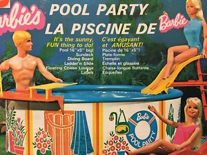 Vintage Barbie's Pool Party