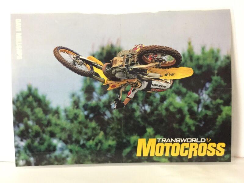 Davi Millsaps Suzuki RM125 Transworld MX Poster Brandy Whip 2T Heavenly Goodness