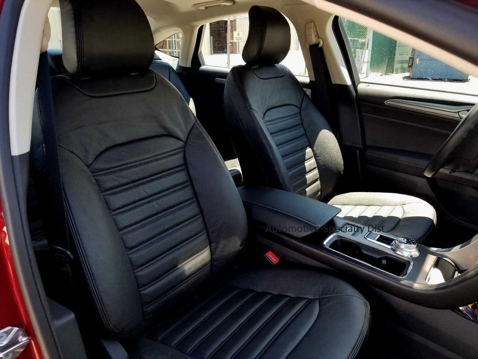 Pleasant Details About Katzkin Black Repla Leather Int Seat Cvr Fits 2017 2019 Ford Fusion Se Se Hybrid Gmtry Best Dining Table And Chair Ideas Images Gmtryco