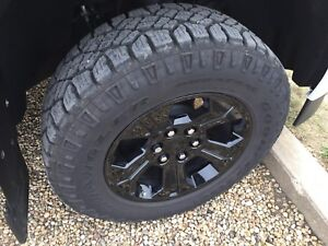 "18"" Gmc factory rims and Goodyear duratracs"