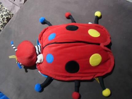 Crayola car mat and detchable pillow with zipper  storage pocket