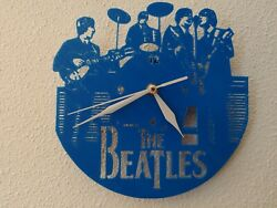 The Beatles 3-D laser Printed Wall Clock/NEW