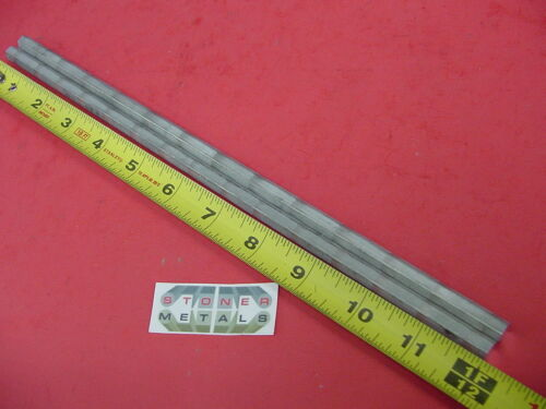 "2 Pieces HEX 5/16"" ALUMINUM 2024 Hex BAR 12"" long T4 SOLID LATHE STOCK .312"""