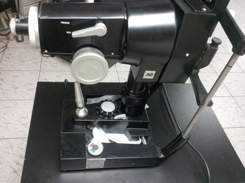 American Optical Ophthalometer Keratometer 11705 MIAMI
