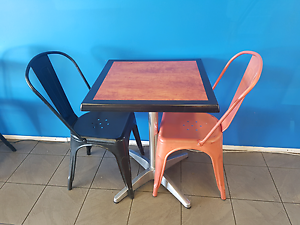 Cafe tables and chairs Rothwell Redcliffe Area Preview