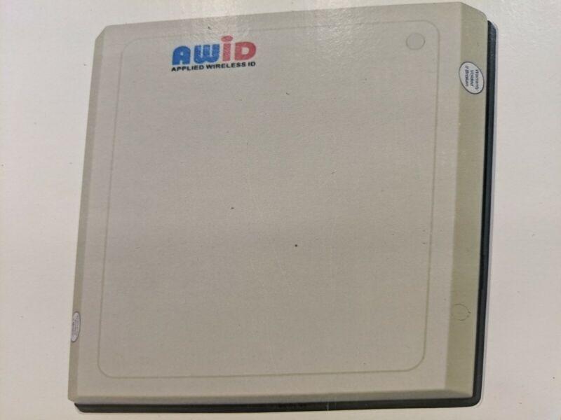 New AWID LR-2000 Long Range Reader (AVI)