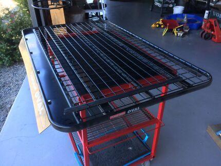 Tradesman Steel Roof Rack Landcruiser 79 Series