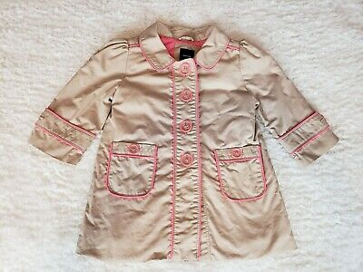 Used, Baby Gap Toddler Girls Jacket Coat Trench Coat Kids Outwear Coats 12-18 Months for sale  Shipping to India