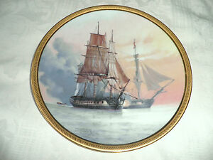 THE GREAT SHIPS of the GOLDEN AGE of SAIL PLATE - 'LA BELLE POULE' LTD 1ST ED