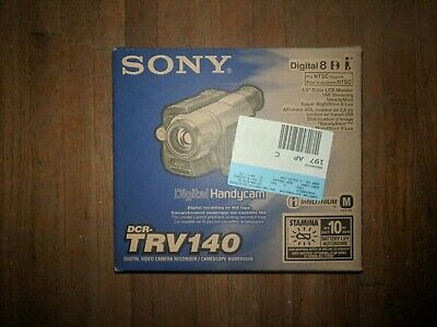 SONY DCR-TRV140 Camcorder Digital 8 Handycam, New!