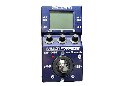 Zoom MS100BT  Bluetooth Multi Effects Pedal