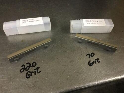 Sunnen compatible CMS Diamond Stone set (2)  P28DM17, P28DM55 or P28DM95