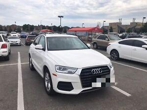 Transfer lease 2017 Audi Q3 Komfort Quattro with Rear camera