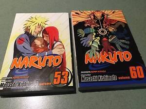 MANGA: Naruto vol 53 & 60 Aberfoyle Park Morphett Vale Area Preview