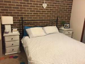 Free bed frame and mattress - sold pending pick up Belconnen Belconnen Area Preview