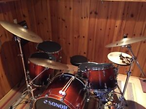 SONOR Force 3007 Drum Kit --Negotiable--