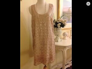 I.D.S. Sequinned Coctail Dress. Size 6. Strathfield Strathfield Area Preview