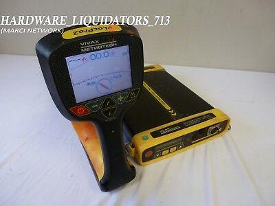 Vivax Metrotech Locator Set Model Vlocpro2 W Vx205-2 Transmitter Fast Shipping