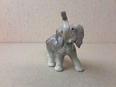 Vintage West Germany Porcelain Elephant