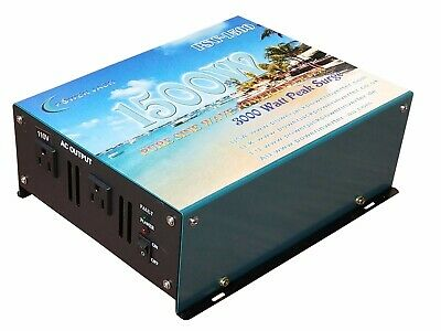 New 1500 watt pure sine wave power inverter DC 12V to AC 110V/ Car (1500 Watt Pure Sine Wave Power Inverter)