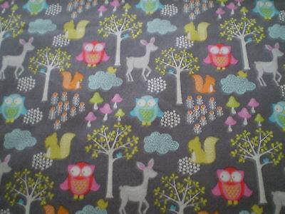 FABRIC FREEDOM - Woodland Walk FX14-3  100% Cotton
