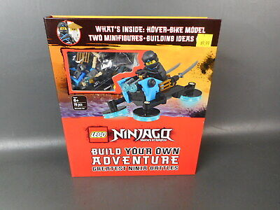 Lego Ninjago Masters Of Spinjitzu Hover Bike Model With Ideas Book Sealed