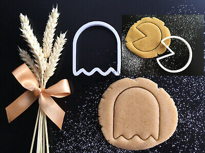 Pacman and Ghost Set | Cookie Cutter | Cake Decorating | UK Seller Ghost Cookie Cutter