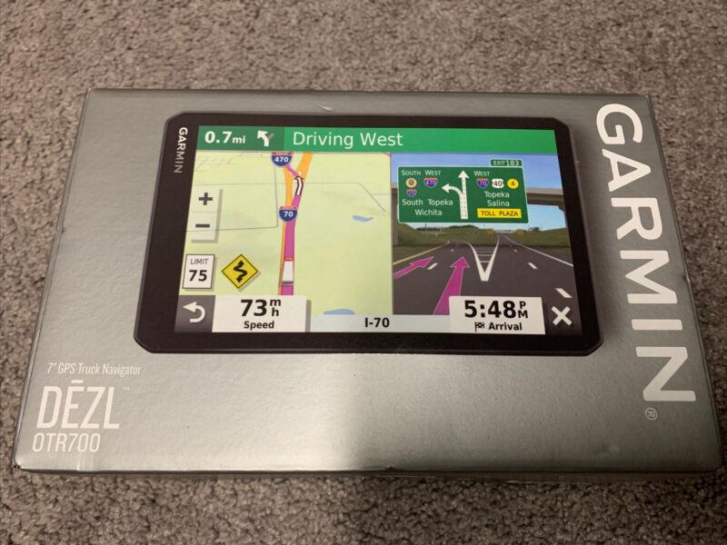 "Garmin DEZL OTR700 7"" GPS Truck Navigator - BRAND NEW"