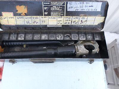 Burndy Hypress 5003304 Hydraulic Crimper Tool