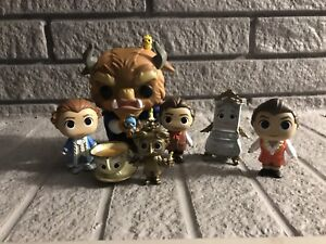 Funko Beauty and The Beast lot