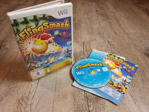Nintendo Wii +Wii U FLING SMASH * Party inkl 8 Minispiele