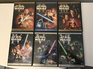 Star Wars DVD collection