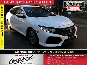 2017 Honda Civic LX + CERTIFIED 7YR/160K + YEAR-END CLEAROUT!