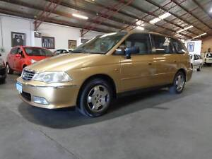 LOW KMS VERY TIDY 2001 Honda Odyssey (7 Seat) Wagon 3 YEARS AWN W Bentley Canning Area Preview