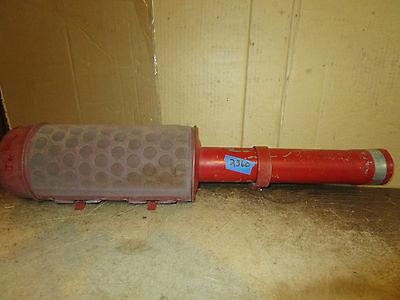 International Ih Combine Pre-cleaner 27 Overall Length Pipe 2 58 Od 2 12id