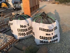 Top soil - 2 yards in bags - delivery available