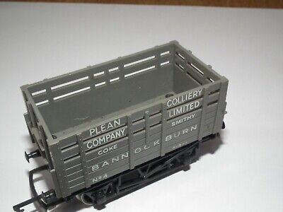 HORNBY R.101 PLEAN COLLIERY LTD 5 PLANK COKE WAGON 00 GAUGE NR MINT